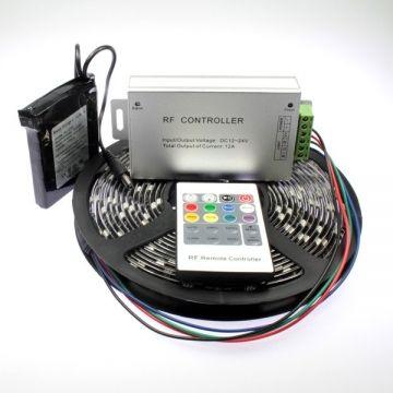 Kit ruban led RGB de 2m50 avec batterie rechargeable 1800mAh