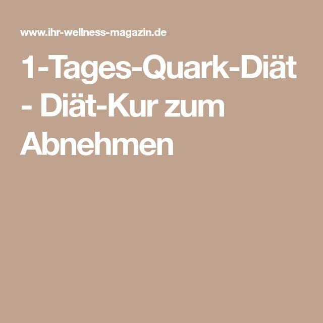 1-Tages-Quark-Diät - Diät-Kur zum Abnehmen