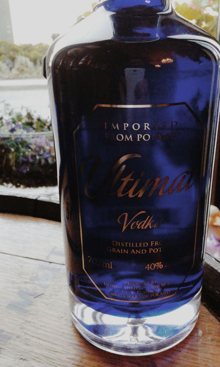 Ultimat Vodka  #ultimat #vodka #original #blue #bottle #premium #wódka #sklepballantines #alcohol #grain #potato