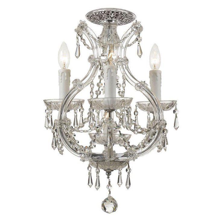 Gallery of crystorama maria theresa crystal chandelier w - Maison de jardin hello kitty asnieres sur seine ...