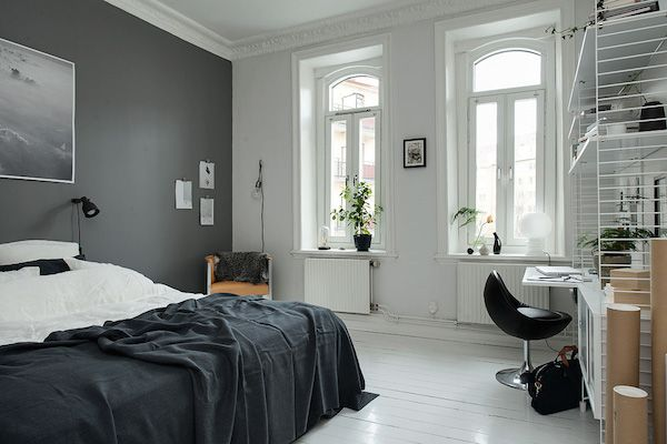 Duvet day in this monochrome bedroom? Alvhem