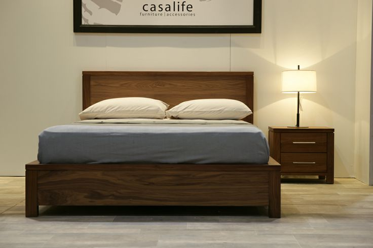 The Addison 4-drawer storage bed. Available in king or queen size. @Home & Garden Events #NationalHomeShow