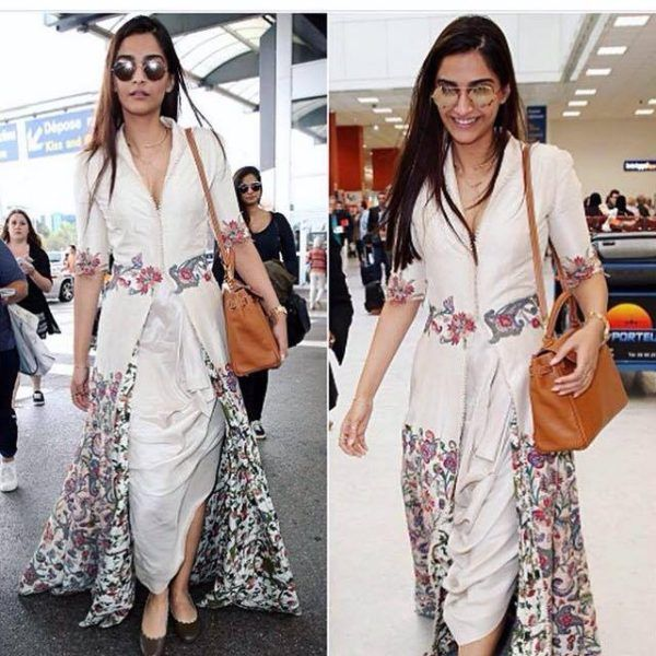 Sonam Kapoor's Airport Entry at Cannes is Snazzy as Hell! - Eventznu.com - The fashion and beauty blog