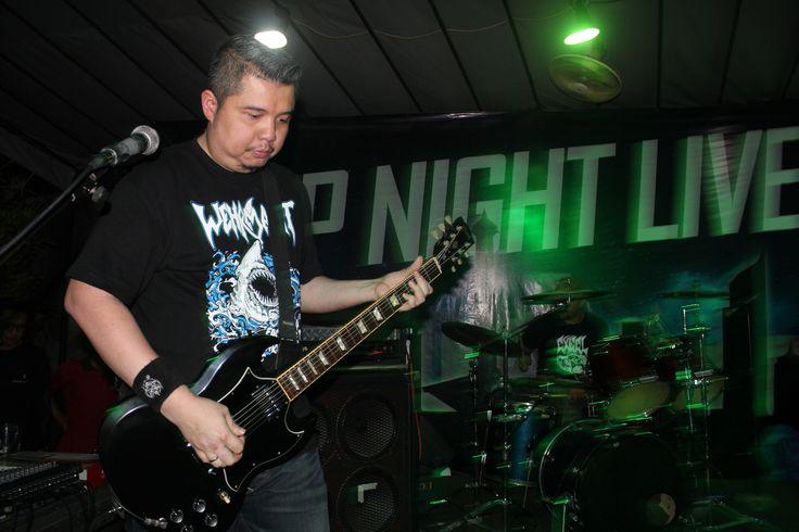 Ricky Siahaan of Seringai #LawlessVomitCrew