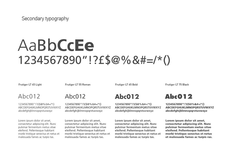 Quality Performers - Secondary Typography