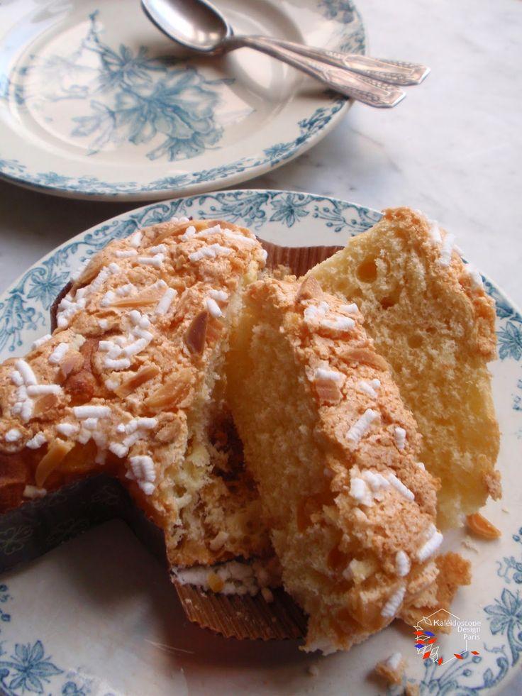 イースターのイタリアのお菓子コロンバ