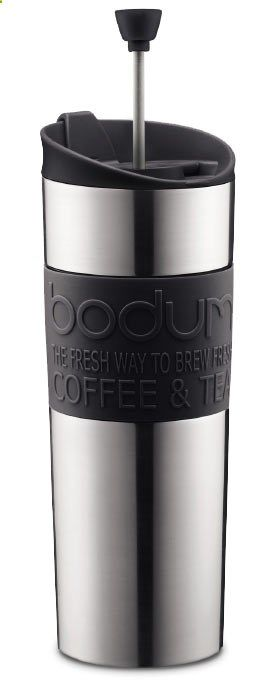 Camping Coffee Maker - Bodum Stainless Steel Double Wall French Press Mug