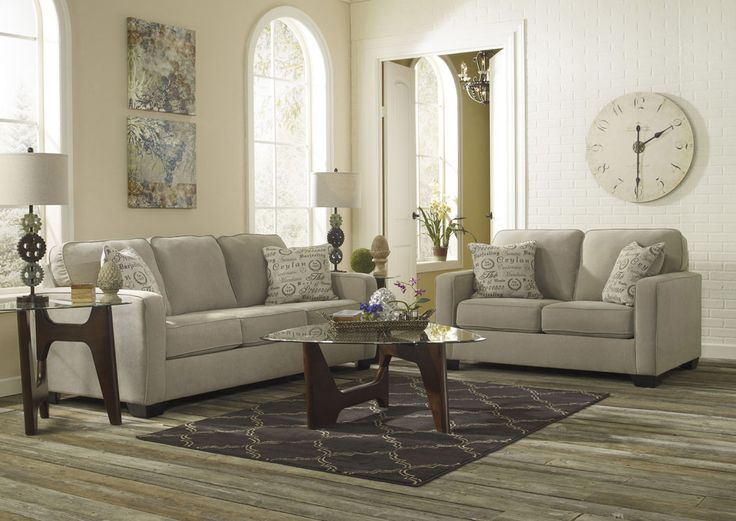 Fall in love with the Alenya Quartz Sofa   Loveseat from Signature Design  by Ashley at Spokane Furniture Company  Proudly serviing the Spokane. Best 25  Jennifer convertibles ideas on Pinterest   Value city