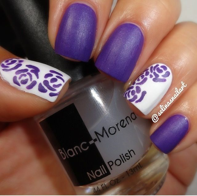 Let S Talk Nail Art: Let's Get Lost For A Second In The Smooth Royal Purple