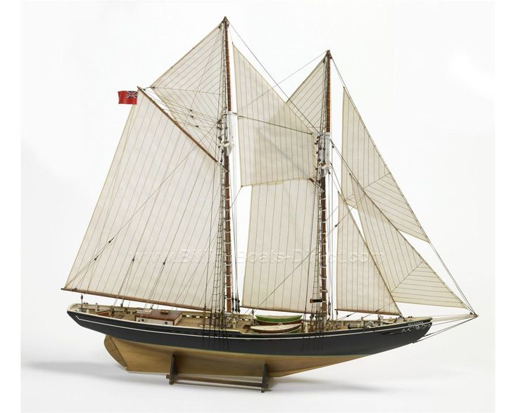 Billing Boats (B576) Bluenose Schooner - Model Boat & Fittings, Probably the Best Static and Radio Control Model Boat Kits in the World…
