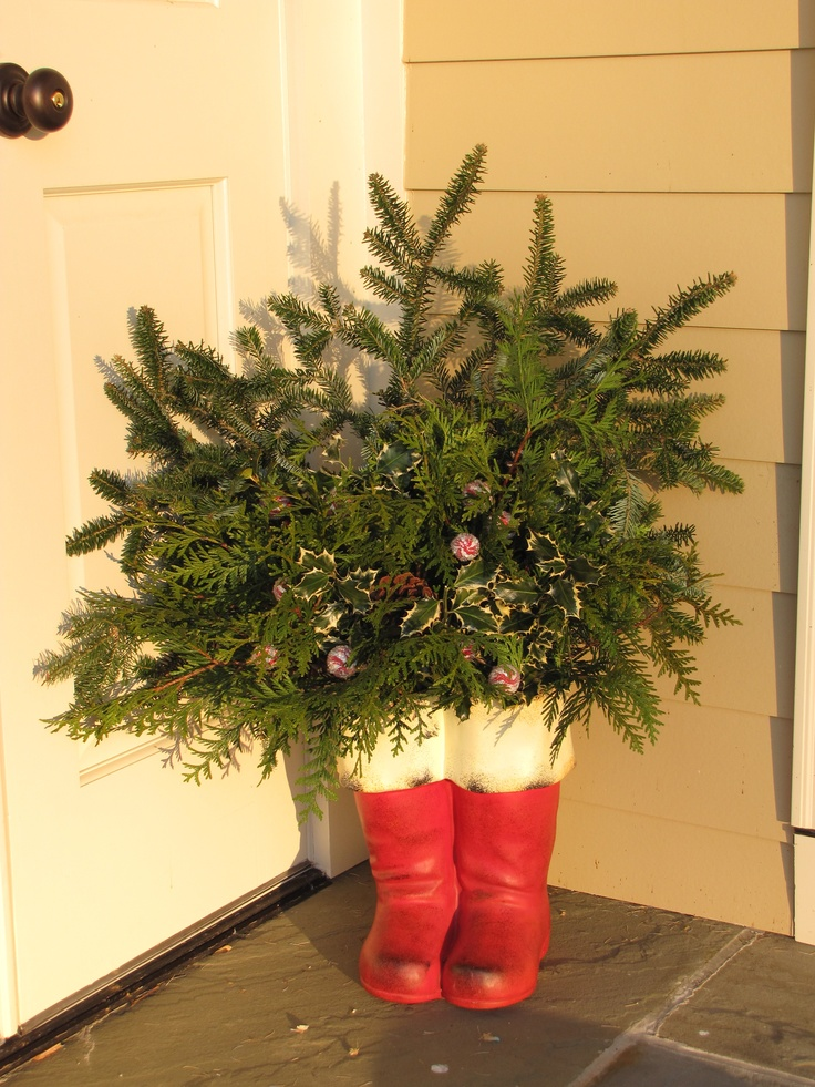 25 Unique Santa Boots Ideas On Pinterest Diy Upcycled