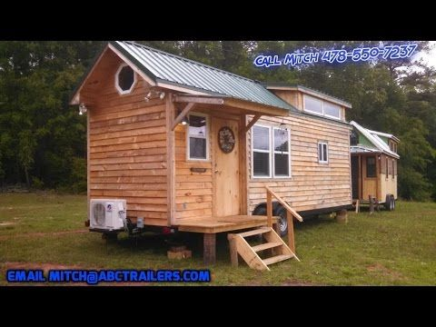336 Sq Ft 85 X 26 Tiny House By American Built Cargo Trailers