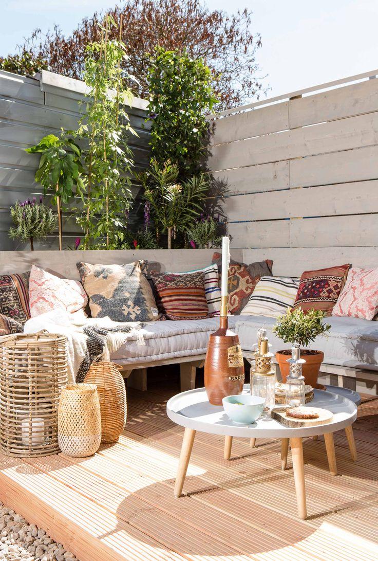 ibiza stijl tuin