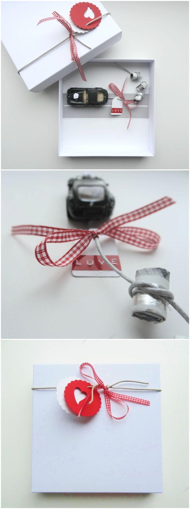 Geldgeschenk Hochzeit: schöne Verpackung für Geldgeschenke. Eine nette Art, de