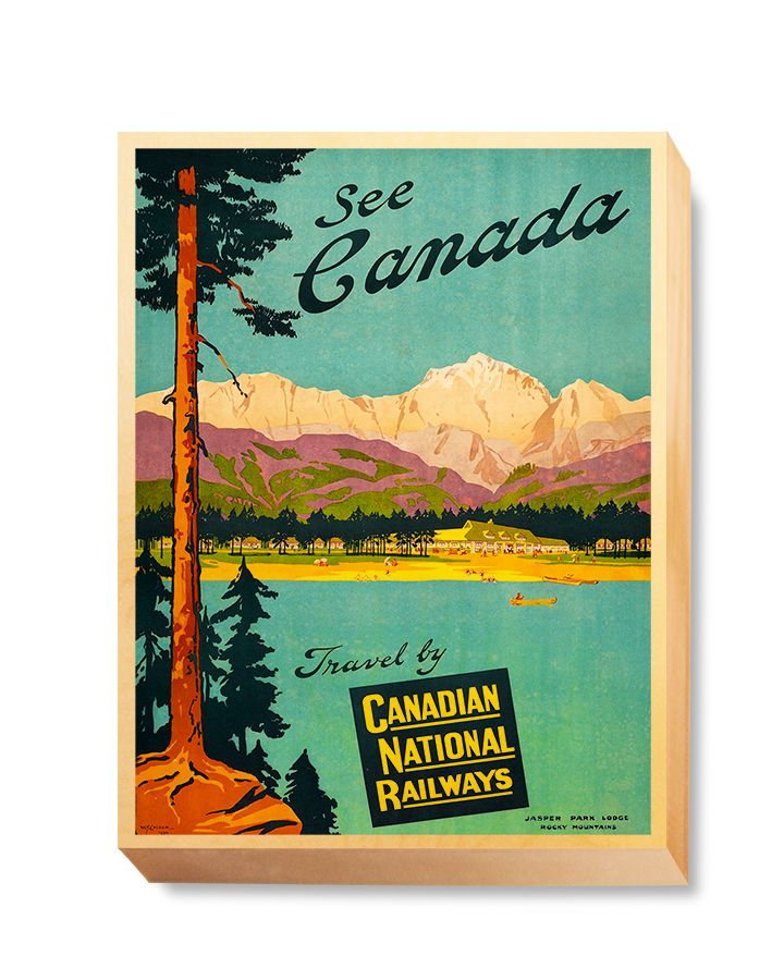 TRV 065 Travel Art See Canada