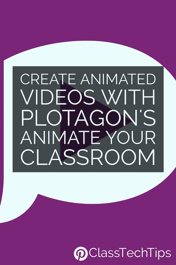 Create animated videos! Plotagon's Animate Your Classroom | classroom videos | video lesson | lesson ideas | video creator