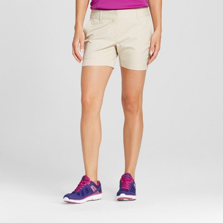 Women's Golf 5 Short Khaki (Green) 12 - C9 Champion