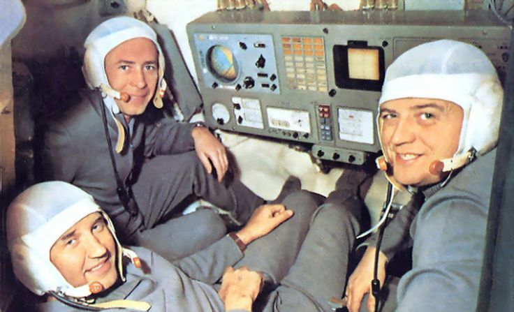 Soyuz 11 Crew - The Soyuz 11 crew became the first human beings to board a space station. Image Credit: Joachim Becker/SpaceFacts