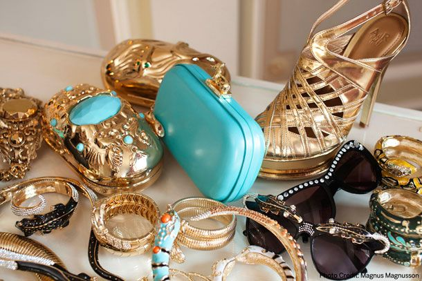 New pieces from the Anna Dello Russo for H & M.