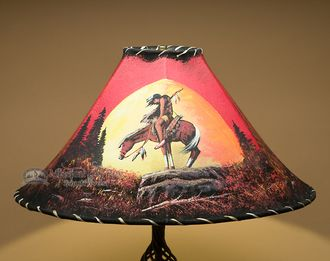 Rawhide Lamp Shades A Collection Of Home Decor Ideas To