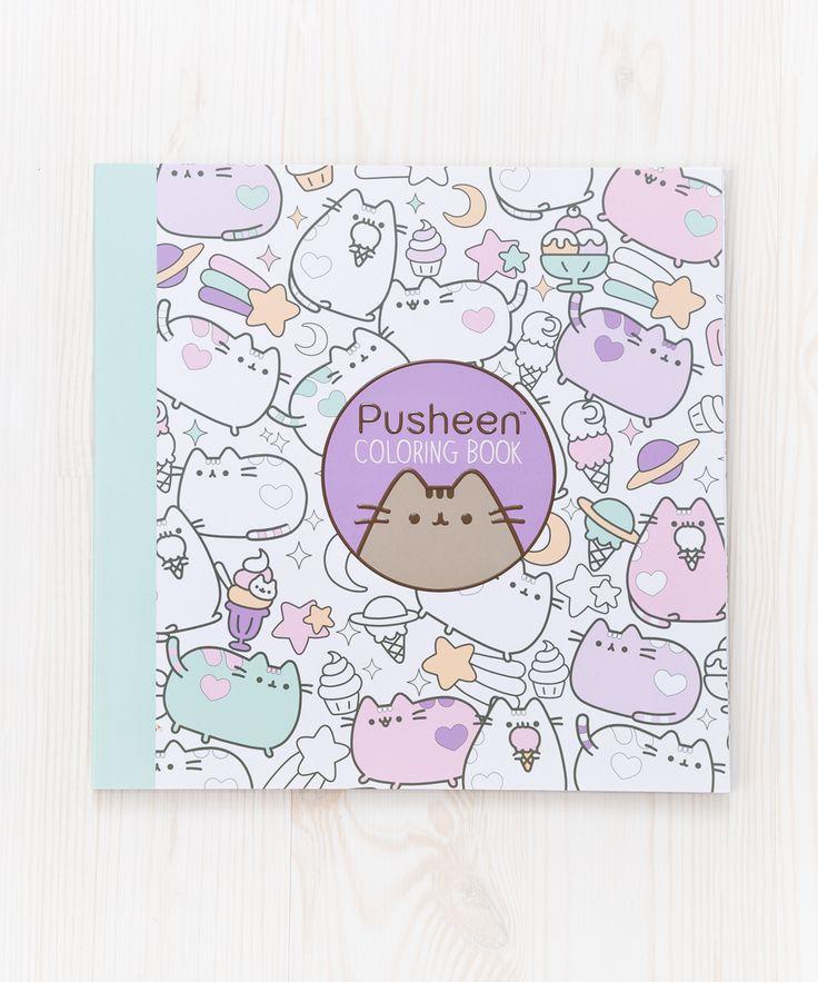 Pusheen the Cat Coloring Book – Hey Chickadee