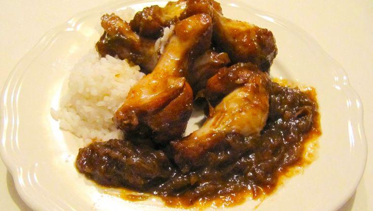 Nana's Kitchen: Gebakken kippenpootjes met rabarber en gember - Lekker en Simpel