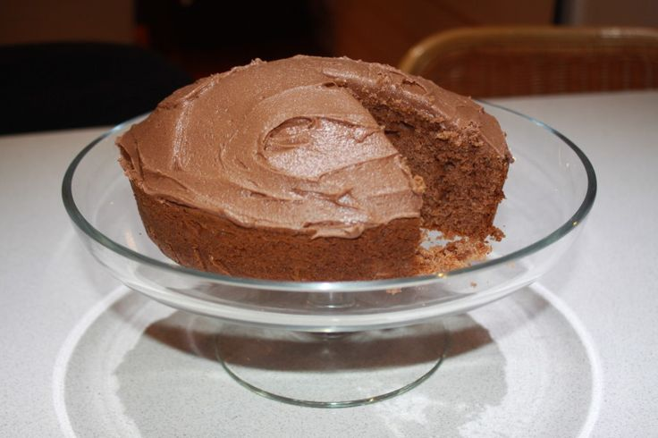 Super duper Quick and Easy Chocolate Cake - it takes longer to get the ingredients than it does to make the cake!
