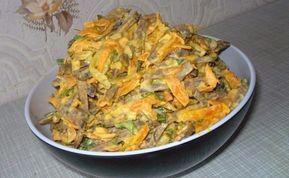 Мой любимый салат с ПЕЧЕНЬЮ. Записывайте рецепт