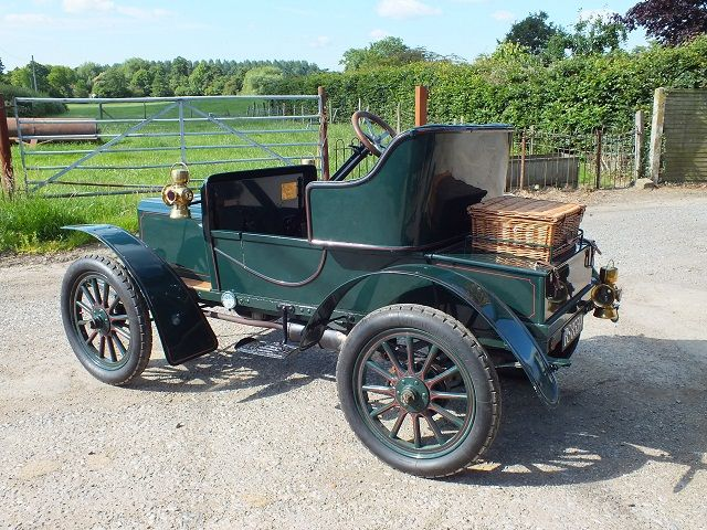 Veteran and Edwardian Cars Rover 6 hp from Drive On