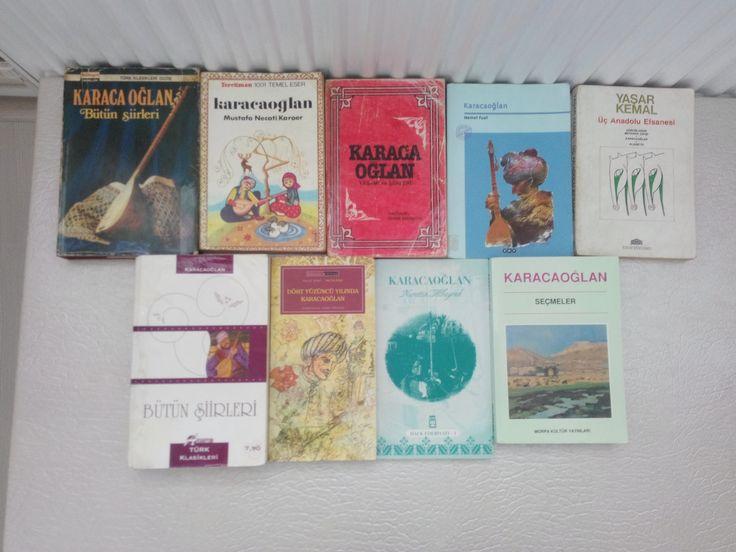 Karacaoğlan Kitaplarım-2016