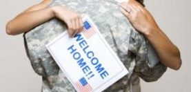 """Ideas for Military Welcome Home Banners...my favorite is """"You thought Iraq was hot, wait till tonight!"""""""