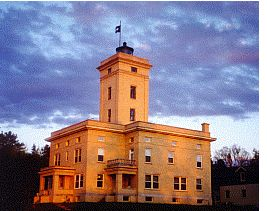 One of only 12 Lighthouses in the United States converted to a Bed & Breakfast.  Sand Hills Lighthouse Inn.  Ahmeek, MI - 8.5 hrs north of Chicago.
