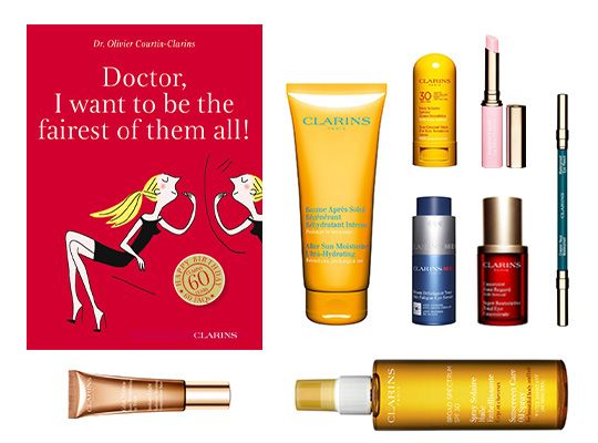 """Win this """"Happy 60th Birthday Clarins"""" Blockbuster Giveaway!"""