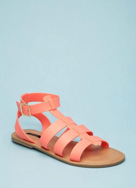 Sandali bassi color pesca #sandali #fashion #trend2015 #zeppe #summer2015 #silhouettedonna