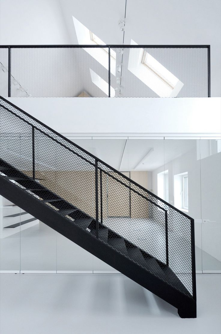 Steel grill design for stairs - Stories On Design Barn House Conversions