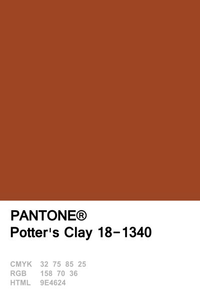 Pantone 2016 Potter's Clay                                                                                                                                                                                 More
