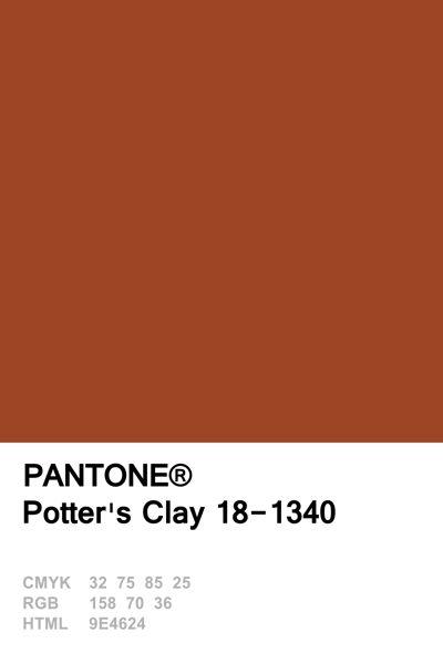 Pantone 2016 Potter's Clay                                                                                                                                                                                 More
