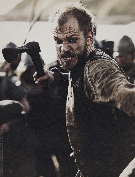 #Vikings ...  I didn't know Floki was a Skarsgard! That explains why I love this character/actor so much. Stellan Skarsgard has such handsome boys