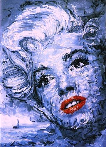 Marilyn Monroe Art - artist unknown