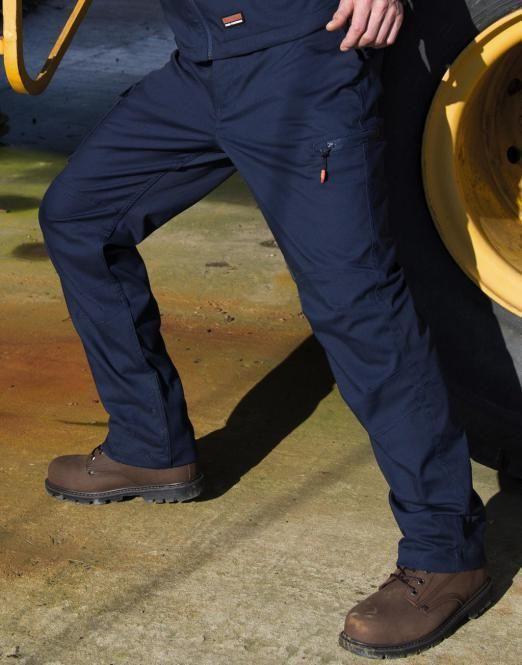 RESULT WORK Pantaloni da lavoro ergonomici Uomo ANCHE Taglie forti 3XL 4XL 5XL