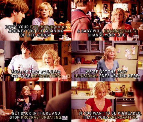 Classic Virginia quotes from Raising Hope