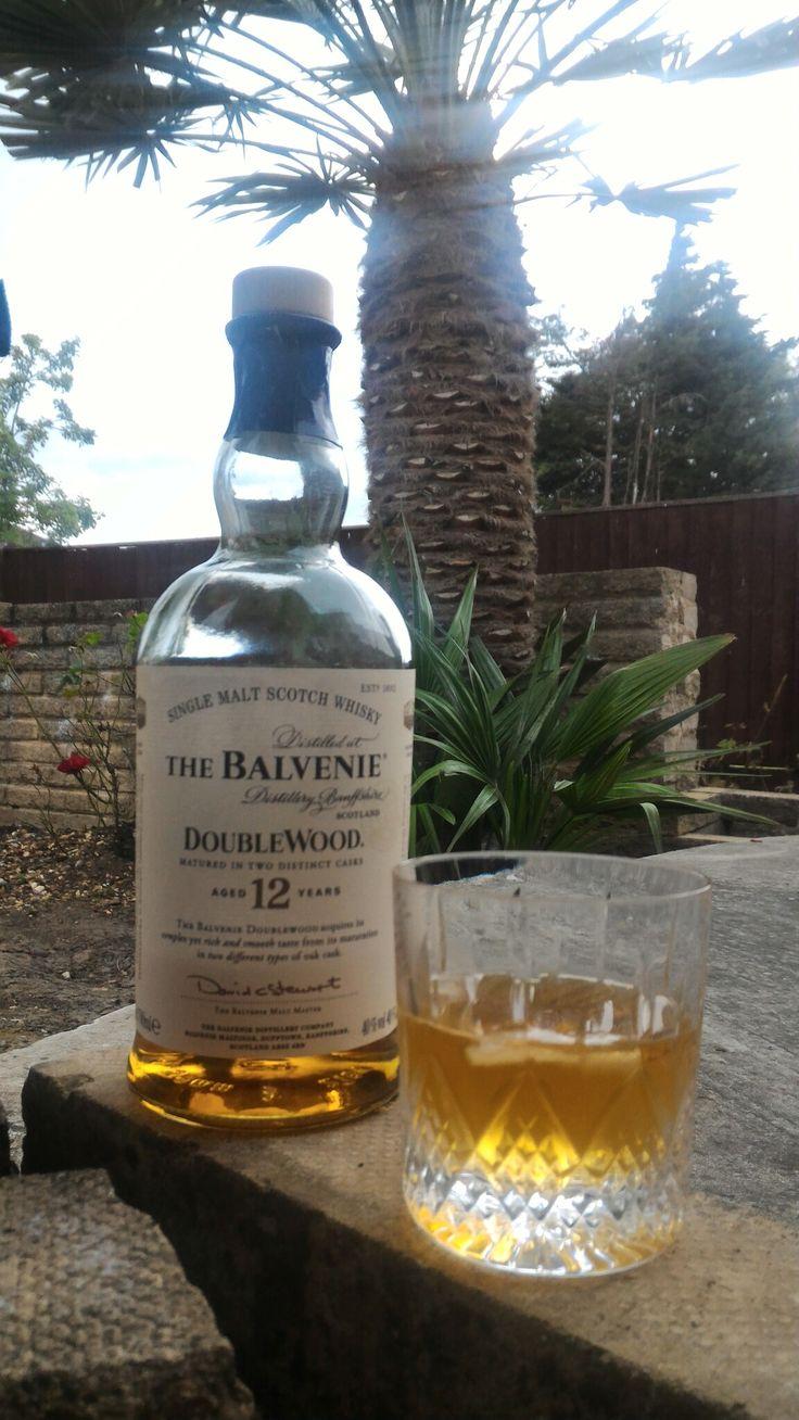 The Balvenie, Double Wood, Single Malt, 12 years, Scotland.