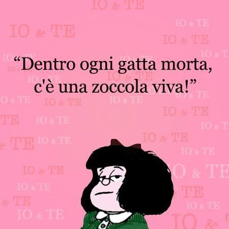 Mafalda - dietro ogni gatta morta ...