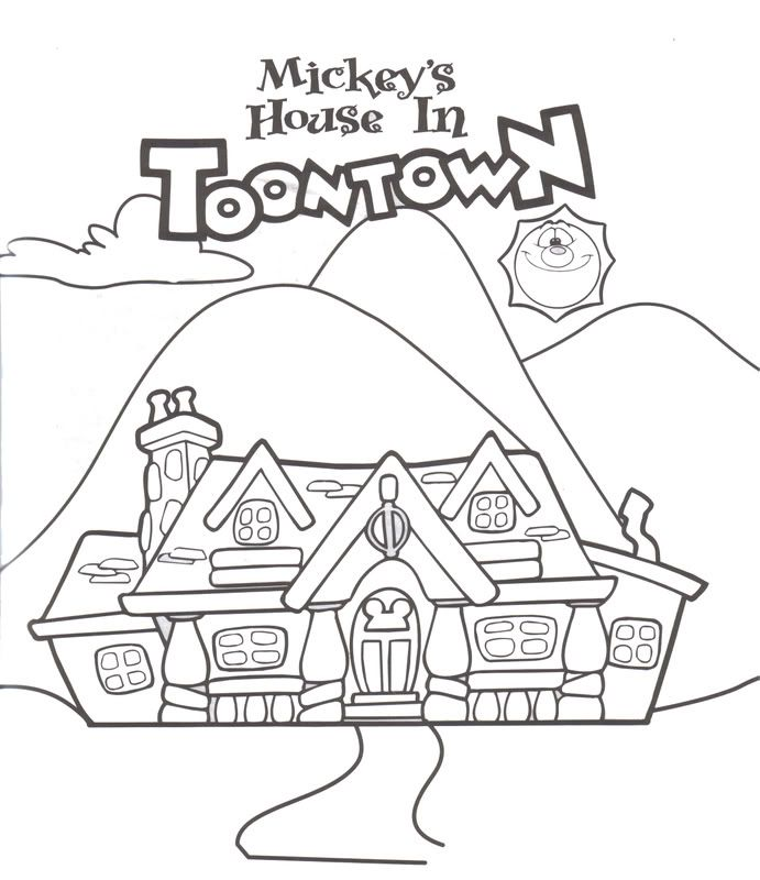 Disney Epcot Coloring Pages : Kids quot disney activity book updated epcot around