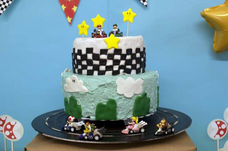 Mario Kart Wii Birthday Party Ideas