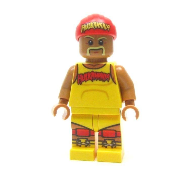 Lego custom WWE - - - - HULK HOGAN - - - - - wrestling rocky rambo wrestler wwf #LEGO