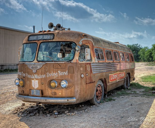 Lone Star Bus at Broken Spoke | Flickr - Photo Sharing!