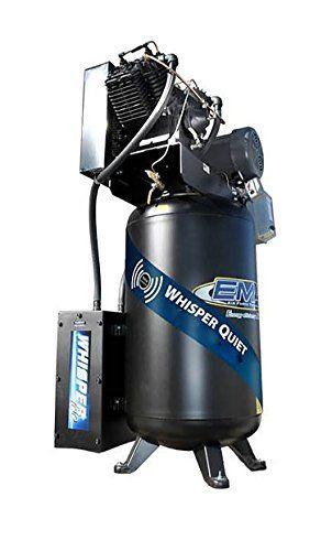 EMAX Compressor ES07V080V1 Industrial 7.5 hp 1 PH 2 Stage 80 gallon Vertical Air Compressor with Silencer Large Matte Black https://cordlessvacuumusa.info/emax-compressor-es07v080v1-industrial-7-5-hp-1-ph-2-stage-80-gallon-vertical-air-compressor-with-silencer-large-matte-black/