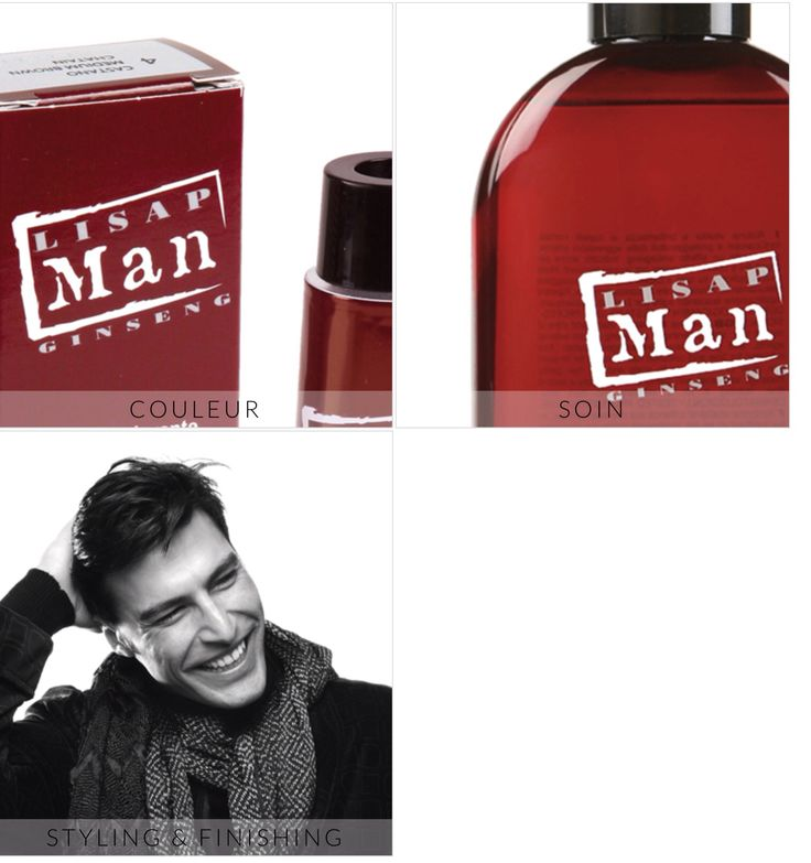 lisap man coloration pour homme sans ammoniaque - Coloration Rouge Sans Ammoniaque