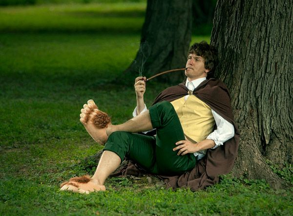 What to wear to second breakfast: Plush Slippers, Halfl Slippers, Hobbit Costumes, Plush Halfl, Gifts Ideas, Hobbit Feet, The Hobbit, Feet Slippers, Hobbit Slippers